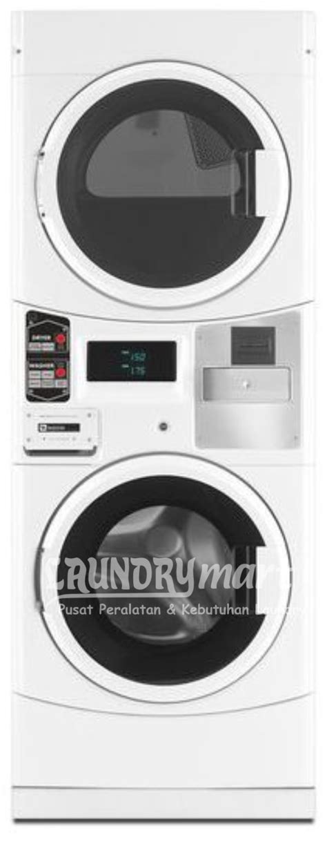 Mesin Cuci Laundry Maytag stacked washer dryer mle21pdagw laundry mart indonesia