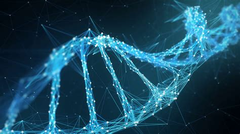 Mba With Biology Background by Abstract Motion Background Digital Plexus Dna Molecule