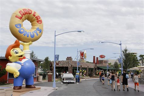 theme park on the simpsons simpsons theme park springfield u s a comes to