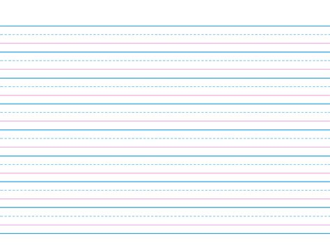 printable handwriting paper for second grade lined paper you can