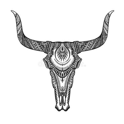 cow skull tribal tattoo www pixshark com images