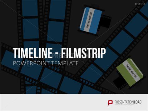 filmstrip powerpoint template powerpoint timeline gantt chart template
