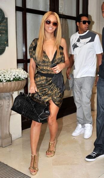 beyonce slippers beyonce knowles is a knockout in mcqueen fish