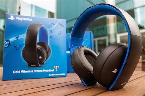 Sony Gold Wireless Headset review playstation gold wireless stereo headset