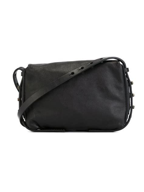 lyst rick owens small shoulder bag in black