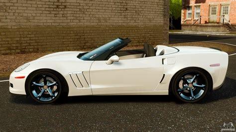chevrolet corvette c6 2010 convertible for gta 4