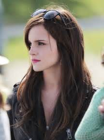 simple hairdos for layered hair emma watson easy long layered hairstyles popular haircuts