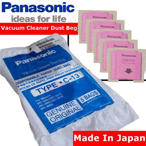 Vacuum Cleaner Panasonic Malaysia panasonic type c 13 vacuum cleaner dust bag lazada malaysia