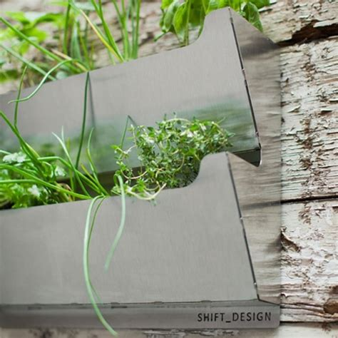 herb garden planters rectangle metal cedar herb garden planter www
