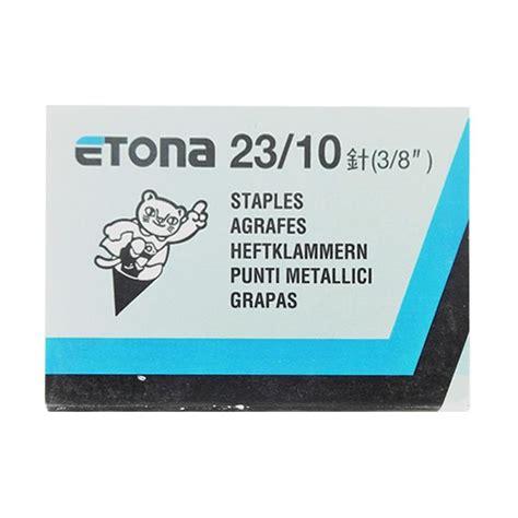 isi stapler staples etona no 10 jual etona no 23 10 isi stapler harga kualitas
