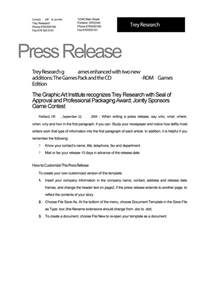 46 Press Release Format Templates, Examples & Samples