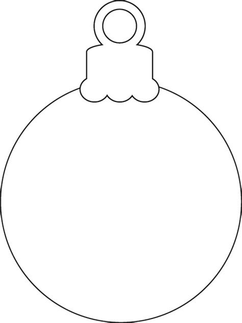 Download Coloring Pages Free Printable Christmas Ornament Coloring Pages Ornaments Printable