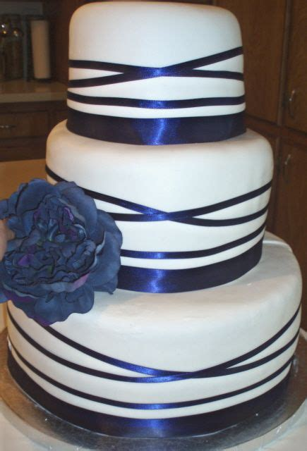 Blue Ribbon Cake Decorating by Divya S The Diana Rectangular Folded Wedding Invitation Is A Beautiful Choice For An