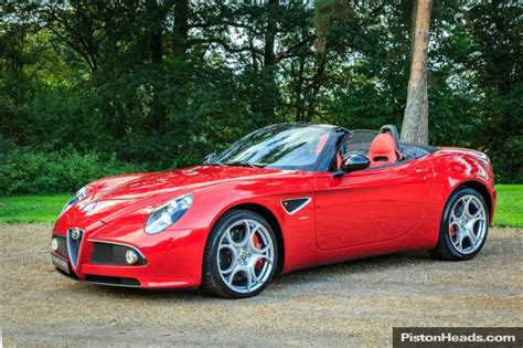 Alfa Romeo 8c Spider For Sale by Used Alfa Romeo 8c Cars For Sale With Pistonheads
