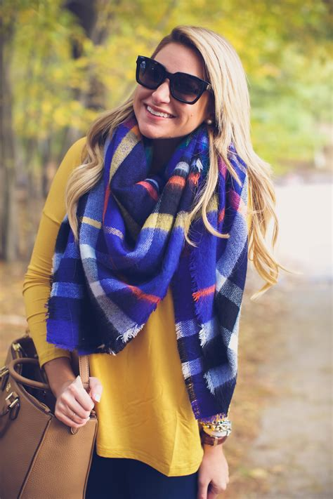 7 Scarf Styles For Fall by Boots With Fall Plaid Scarf Shop Dandy