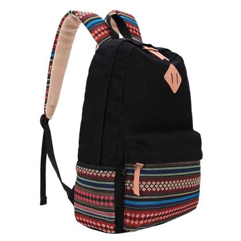 leaper causal style lightweight canvas cute backpacks