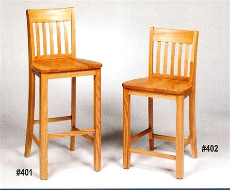 Solid Maple Bar Stools by Mission Oak Stools Chair Quality Bar Stools Counter