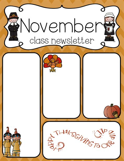 free editable newsletter templates in a holiday theme pinteres