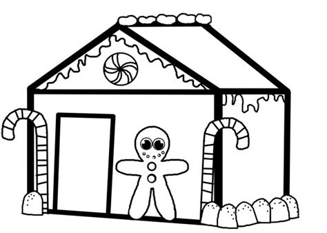 blank gingerbread house coloring pages ginger bread house coloring book free stock photo public