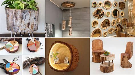 decorar casa madera troncos de madera para decorar el hogar hogarmania