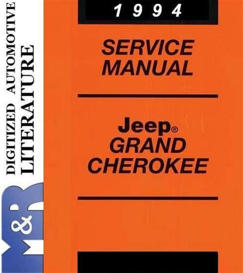 service repair manual free download 1994 dodge grand caravan seat position control 1994 jeep grand cherokee zj service shop manual download manuals