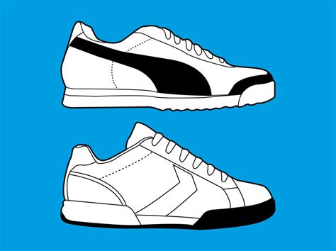 sport shoes vector clip running shoes cliparts co