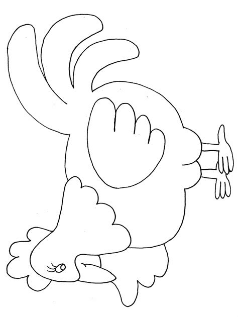 little red hen coloring pages az coloring pages