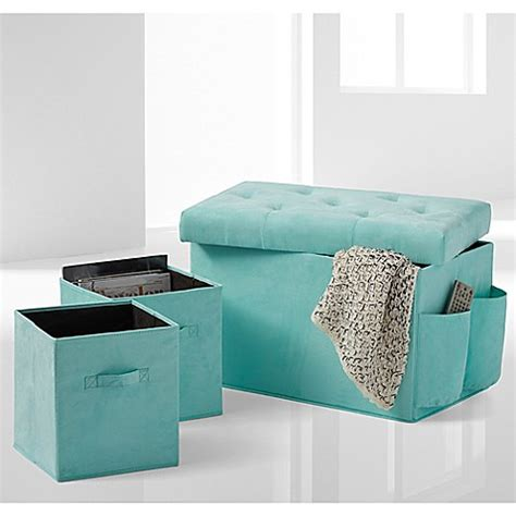 collapsible storage bench ottoman 24 inch folding storage ottoman with two folding storage