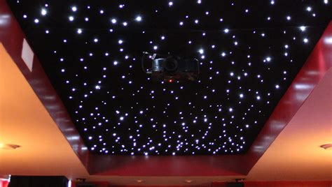 Installing A Fiber Optic Starfield Ceiling Make Fiber Optic Ceiling Light