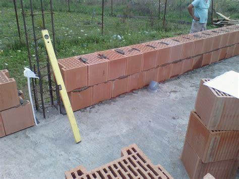 bca zidarie preturi realizare zidarie caramida porotherm wienerberger casa