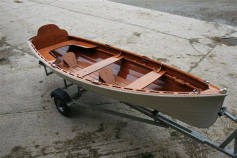 plywood boat bottom paint oughtred acorn rowing wooden skiff for sale