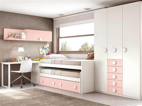 chambre fille rose gris blanc