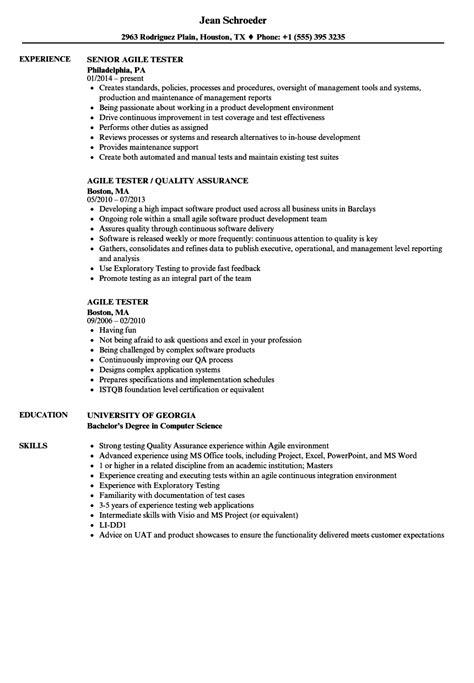 manual testing resume sample globish me