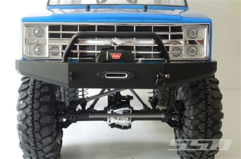 k5 blazer fabricated bumpers images 5 ssd blazer winch bumper for vaterra ascender ssd00046