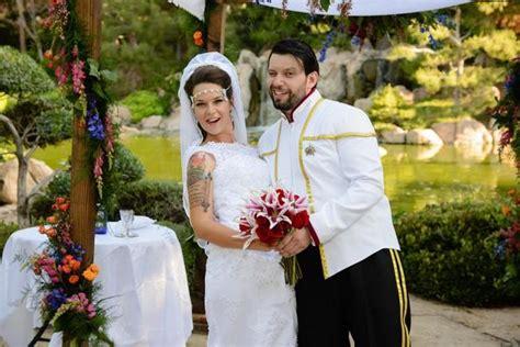 katlin vadim s trek wedding in a garden weddbook