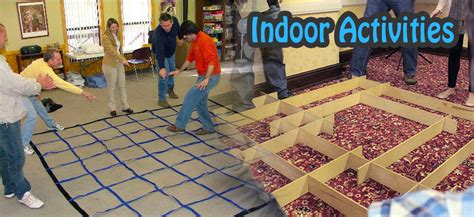 Team Building Activities For The Office by Indoor Team Building Activities Exercises