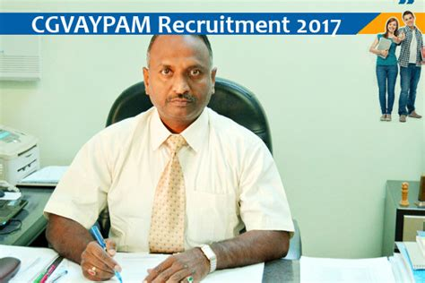 Mba Officer Salary by Cgvyapam Principal And Assistant Project Officer 2017