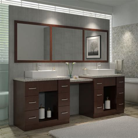 Ariel Vanity Table by Ariel Bath Roosevelt 97 Quot Sink Vanity Set With Mirror And Makeup Table Wayfair