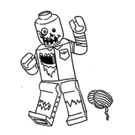 Lego Zombie Coloring Pages | top 20 zombie coloring pages ᐅ for for your kids ga58