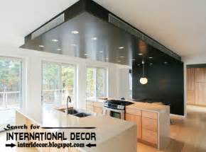 Modern Ceiling Design For Kitchen Largest Album Of Modern Kitchen Ceiling Designs Ideas Tiles
