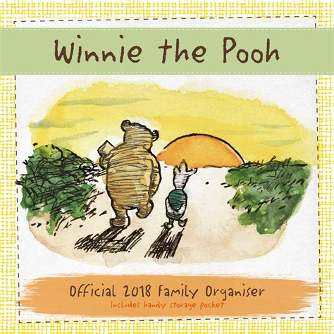2018 winnie the pooh wall calendar day winnie the pooh calendars 2018 on europosters