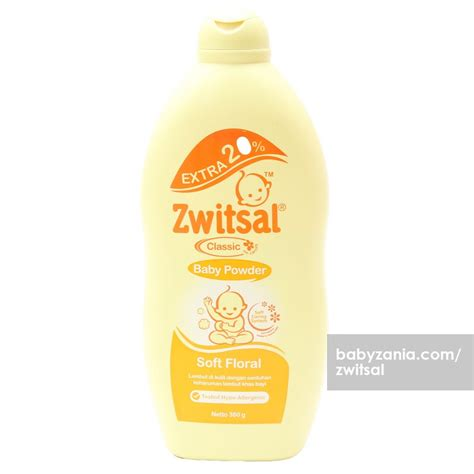 Pelembab Zwitzal Jual Murah Zwitsal Classic Baby Powder Soft Floral 360 Gr