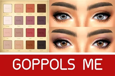 gpme smokey eyeshadow  goppols  sims  updates
