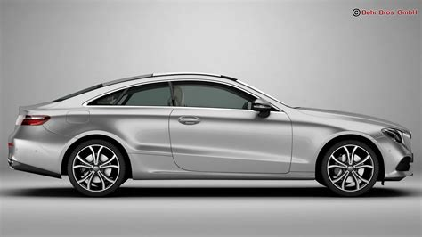 coupe models mercedes e class coupe 2017 3d model buy mercedes e