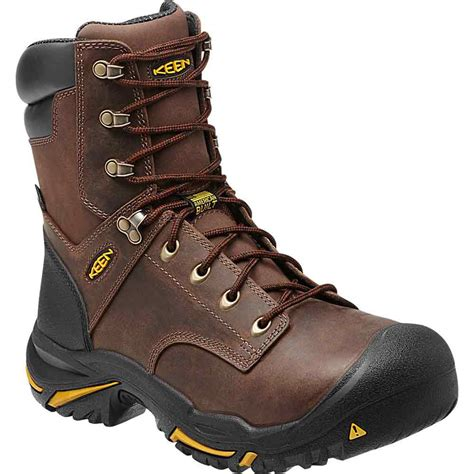 keen work boots for keen mt vernon 8 inch steel toe wp work boot 1013257