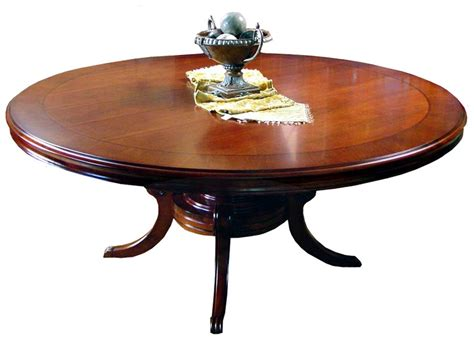 72 Quot Round Mahogany Single Pedestal Dining Table Ebay 72 Pedestal Dining Table