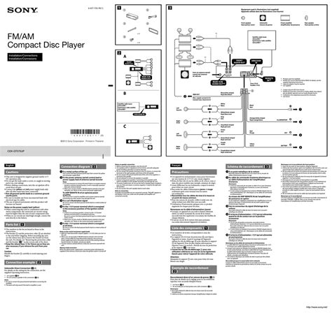 sony cdx throughout sony cdx gt210 wiring diagram gooddy org