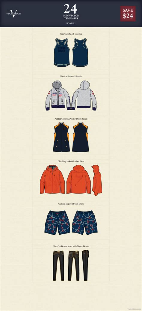 templates vector graphics blog page 31 24 men vector apparel templates illustrations on