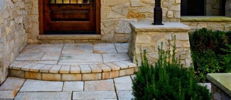 Unilock Yorkstone Yorkstone Entrance Area Landscape Supply