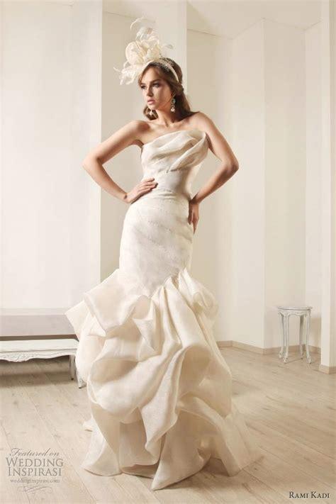 draped wedding dress rami kadi wedding dresses 2012 bridal collection wedding